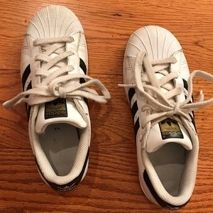 adidas Superstar Sneaker, White